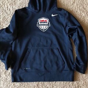 Team USA Nike Basketball Hoodie